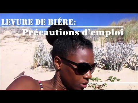 LEVURE DE BIERE : Précautions d'emploi😎🌊- cheveux crépus longs [4C, B, A]