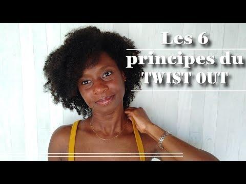 🍀Les 6 principes du TWIST OUT sur cheveux afros crépus – [4c, B, A]