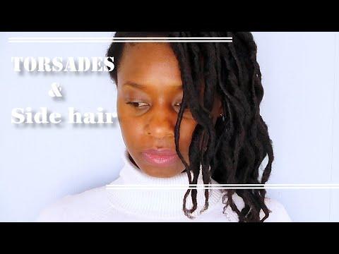 Tuto: coiffure Palm roll sans locks 😳👧🏾 sur cheveux crépus longs [4C,B et A]