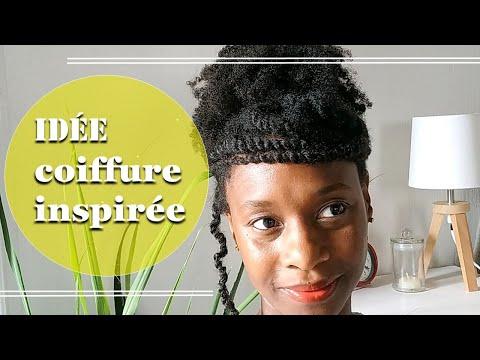 👧🏾Tuto :IDÉE COIFFURE sur cheveux afro crépus- (4C,B,A) coiffure inspirée #1