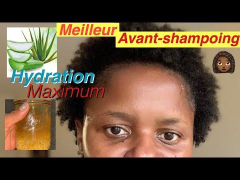 Le meilleur avant-shampooing pour cheveux crépus sec😱 hydratation maximum
