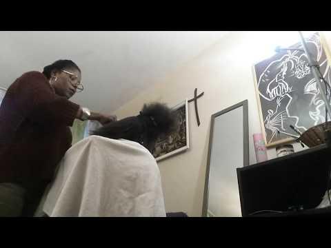Lissage des cheveux crépus,c'est simple