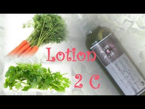 CHEVEUX CRÉPUS: Lotion 2 C (Carotte -Coriandre)