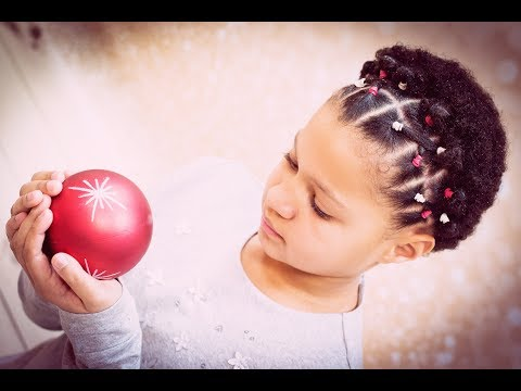 *** [ AFRO KIDS HAIRSTYLE ] Facile