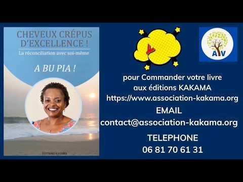 Livre, Cheveux Crépus D'excellence, de l'auteure Léo-Cady KAKAMA