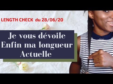 LENGTH CHECK CHEVEUX CRÉPUS- JE MESURE MES CHEVEUX APRES TANT D'ANNÉES