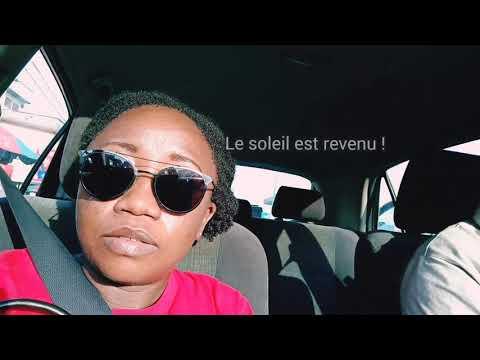 ALLONS FAIRE LES ACHATS DE NOUVEAUX PRODUITS CHEVEUX CREPUS !!!! + Découverte du Douala Grand Mall