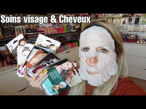 Soins Visage & Cheveux – Masque en tissus / Masque bubble / Aloé Véra / Argan / … Crème hydratante