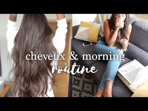 ROUTINE MATIN & CHEVEUX | Journée Relax