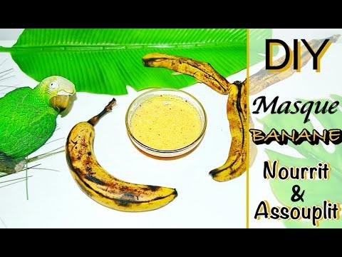 DIY – 🍌 Masque cheveux à la Banane ! – Nourrit en profondeur – Cosmétique maison naturel