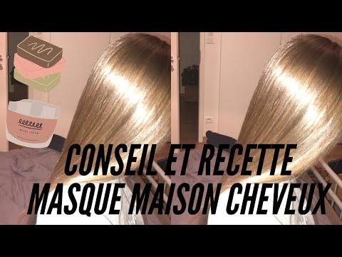 CONSEIL ET RECETTE MASQUE CHEVEUX MAISON ✨  (brillance x 1000)