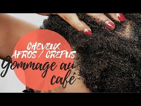 HOW TO / DIY – Gommage au café – Pousse des cheveux crépus & assainir le cuir chevelu