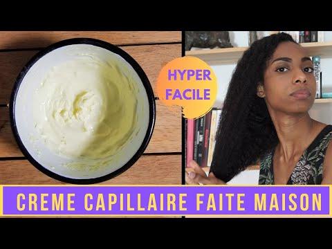 CREME CAPILLAIRE FAIT MAISON | DIY Recette crème capillaire cheveux crépus hydratante  nourrissante