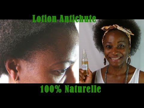 CHEVEUX CRÉPUS: Lotion 100% Naturelle pour la pousse de cheveux