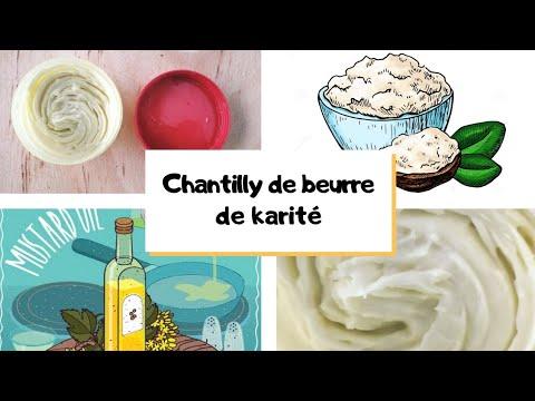 Chantilly de beurre de karité