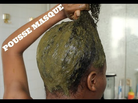 D.I.Y: Poudre de Thé Vert & Neem Pour Pousse Des Cheveux Crépus –  Prévenir Chute Des Cheveux