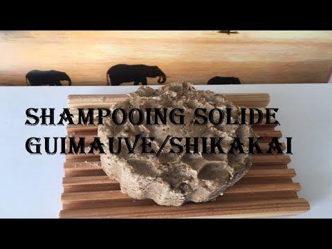 SHAMPOOING SOLIDE GUIMAUVE /SHIKAKAI