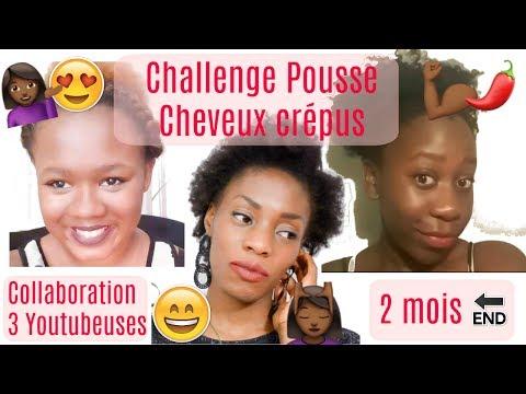 ➞ Challenge | Pousse Cheveux Crépus