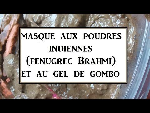 ➞ DIY   Masque Gel de Gombo Fenugrec et Brahmi [OBJECTIF VOLUME]