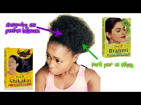 HAIRCARE I Shampooing à la poudre de shikakaï et à la poudre de brahmi