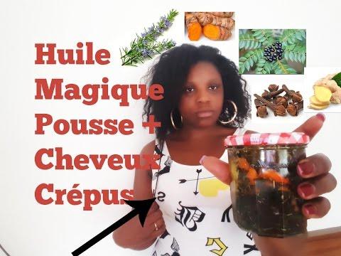 HUILE MIRACLE ACTIVATRICE DE POUSSE DES CHEVEUX CREPUS(PARTIE 1)
