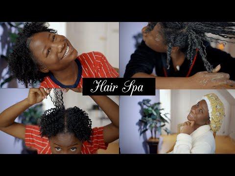 Wash day détaillé I Coiffure pour cheveux crépus courts 4C I Twist Out