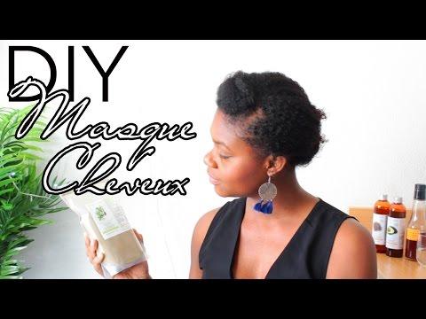 DIY Masque Cheveux crépus et secs – Pousse, volume et force (poudre de Brahmi)