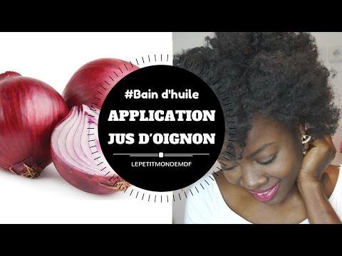 ✦✦POUSSE DE CHEVEUX✦✦ Application Jus d'Oignon