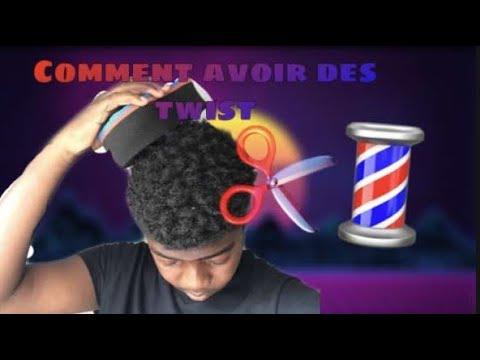 Twist tutorial (cheveux crépus)