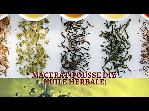 Cheveux Crépus- MACÉRAT HUILEUX POUSSE DIY