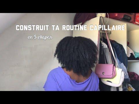 CONSTRUIRE SA ROUTINE CAPILLAIRE ( en 5 étapes seulement pour cheveux crépus )