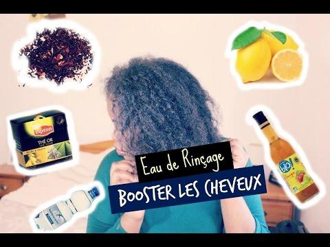 BOOSTER LA POUSSE DES CHEVEUX l EAU de Rinçage