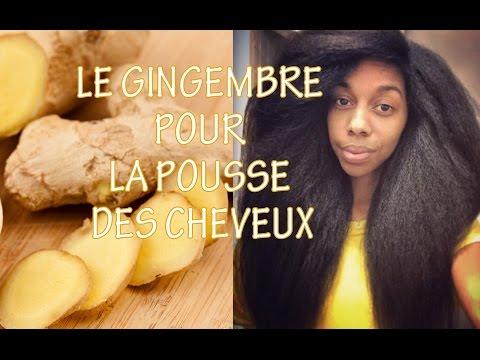 Le gingembre pour la pousse des cheveux {Ginger for hair growth}