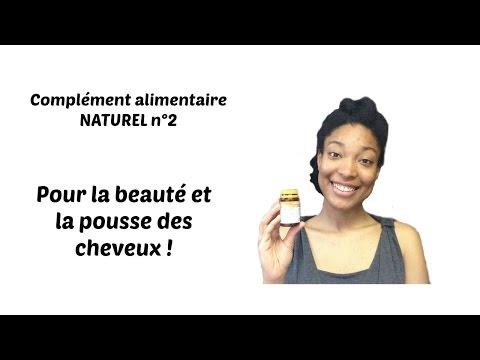 Complément alimentaire NATUREL n°2 pour la pousse et la beauté des cheveux!
