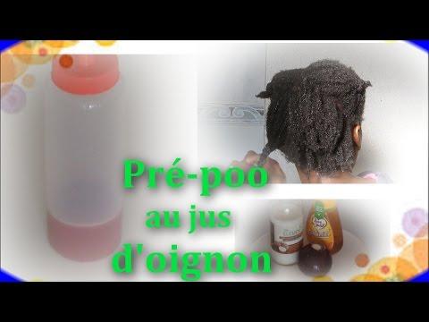 CHEVEUX CREPUS : Le jus d'oignon pour la Pousse des Cheveux