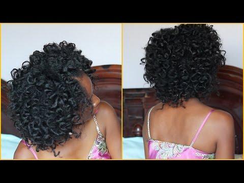 Cheveux crépus 4C   Des boucles sans bigoudis!