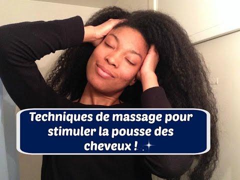 Stimuler la pousse des cheveux | Techniques de massage du cou et du cuir chevelu | UnivHair Soleil