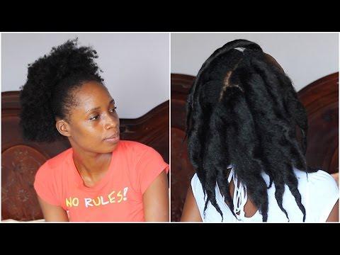 Lisser ses Cheveux Crépus Naturellement SANS Chaleur