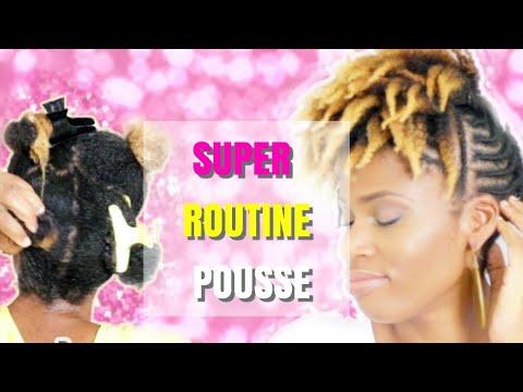 SUPER ROUTINE POUSSE QUI CHANGERA TOUT CHEVEUX CRéPUS MILIES HAIRSTYLE natural hair 4c
