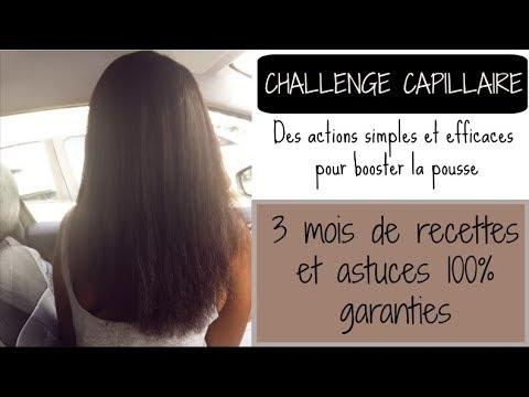 Challenge pousse des cheveux: booster la croissance et la pousse des cheveux crépus