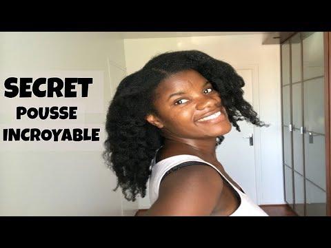 CHEVEUX CREPUS: Secret pour une pousse et un volume incroyable!!