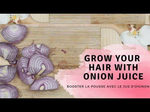 BOOSTER LA POUSSE DES CHEVEUX CRÉPUS AVEC LE JUS D'OIGNON/GROW YOUR HAIR WITH ONION JUICE (FR-EN)