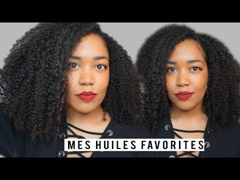 MES 5 HUILES FAVORITES | pousse des cheveux crépus, frisés, bouclés