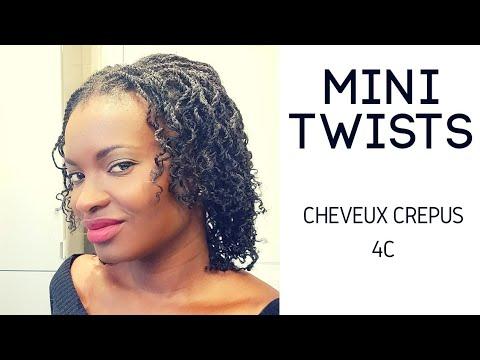🇨🇮11. COIFFURE PROTECTRICE : VANILLES SUR CHEVEUX CREPUS – accélère la pousse – Kinky Hair Beauties