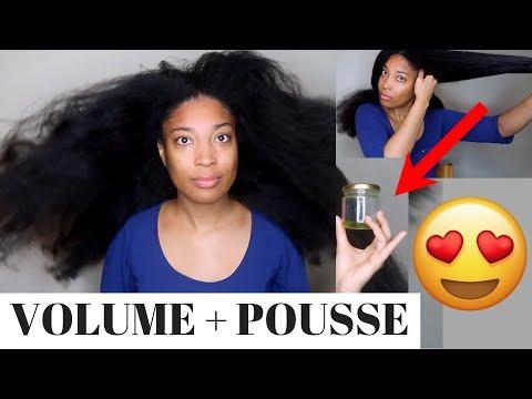 Accélérez La Pousse de Vos Cheveux et Augmentez Votre VOLUME avec ce Traitement !