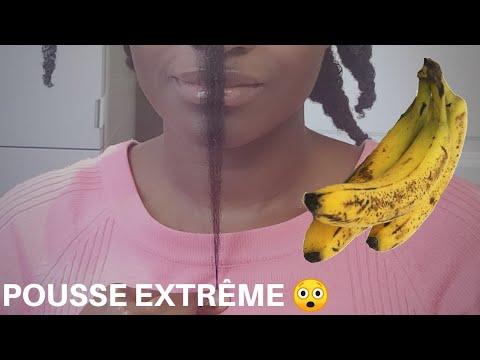 🇨🇮18. MASQUE PROTÉINÉ À LA BANANE – pousse extrême 😲  – cheveux crépus – Kinky Hair Beauties