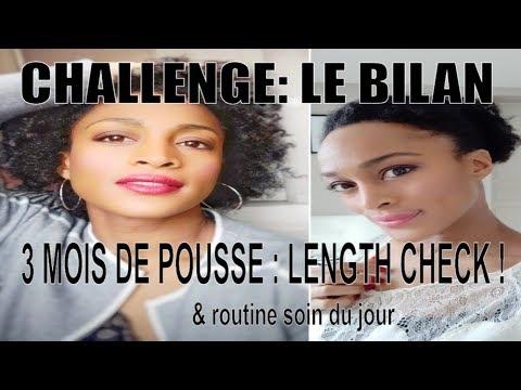 POUSSE DES CHEVEUX PLUS LONGS EN 3 MOIS | LENGTH CHECK & ROUTINE DU JOUR (cheveux crépus et frisés)
