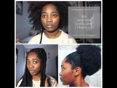 routine capillaire cheveux afro/ routine pour la pousse des cheveux/4C