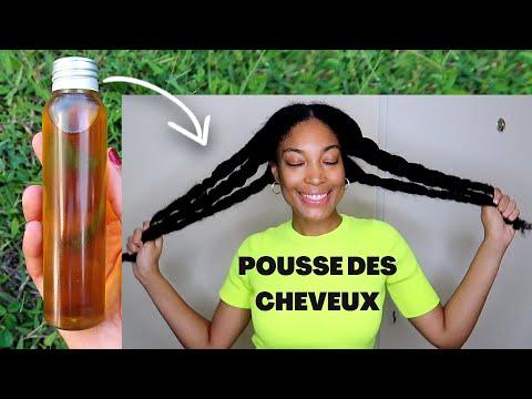 DIY OIL MIX POUR LA POUSSE DES CHEVEUX   Cheveux Crépus plus Longs et plus Forts !