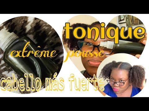 tonique/pousse extrême/challenge/cheveux crépus